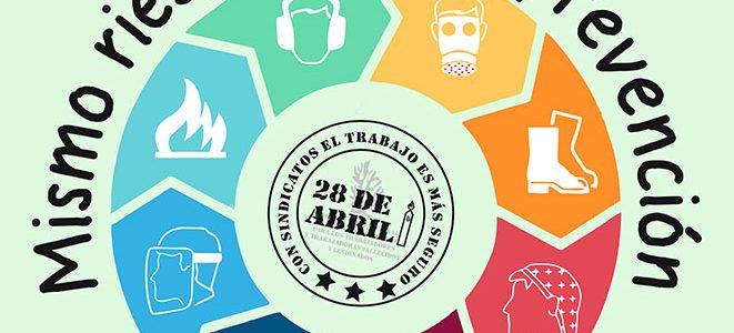 28 de Abril, Día Mundial de la Seguridad y Salud en el Trabajo: aumenta la siniestralidad