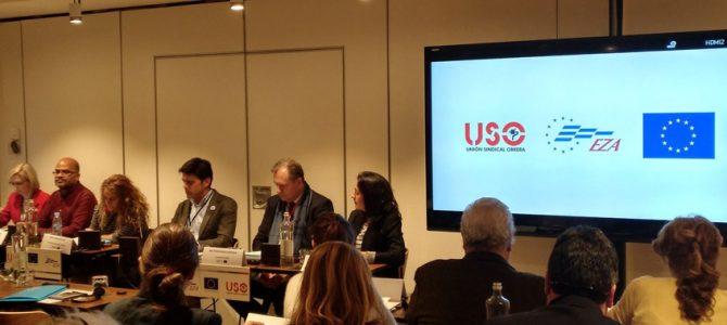 Seminario internacional sobre Sistemas Educativos de Calidad, organizado por USO y EZA