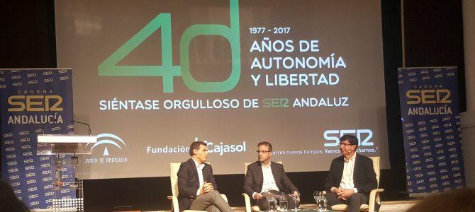 USO asiste al cierre de los encuentros de la SER: 40 años de autonomía y libertad en Andalucía