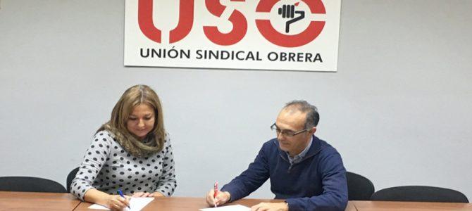USO firma un Acuerdo con Adams Formación