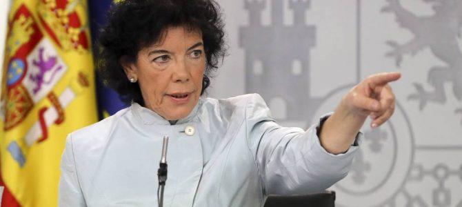 Para FEUSO, las intenciones de la Ministra de Educación en el Congreso de los Diputados suponen retroceder una década