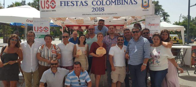 """USO en """"Las Colombinas de Día"""" de la calle Marina de Huelva"""