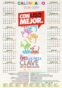 Calendario Escolar 2018 2019 Para Las Provincias De