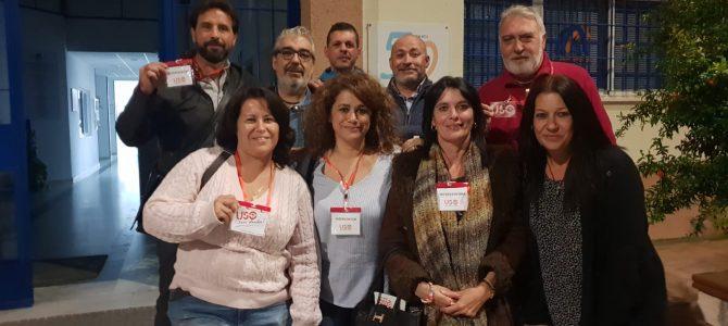 USO-Andalucía consigue 5 delegados en las Elecciones Sindicales en AFANAS El Puerto y Bahía