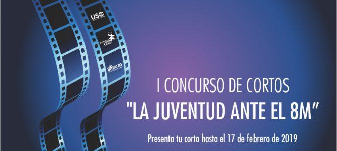 """JUVENTUD USO lanza el I Concurso de cortos """"La juventud ante el 8M"""""""