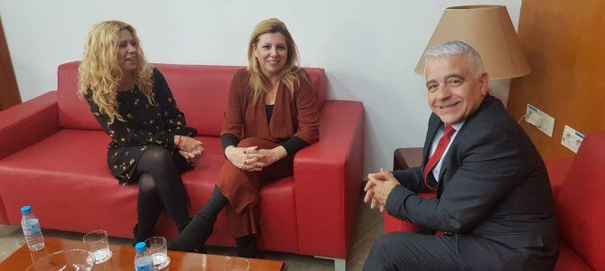 USO con el nuevo Presidente del Consejo Escolar de Andalucía