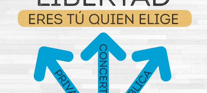 "Campaña de escolarización de FEUSO 2019: ""Escoge con libertad. Eres tú quien elige"""