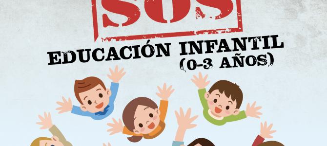 Campaña de FEUSO por la gratuidad universal y la financiación pública de todos los centros de Educación Infantil de 0 a 3 años
