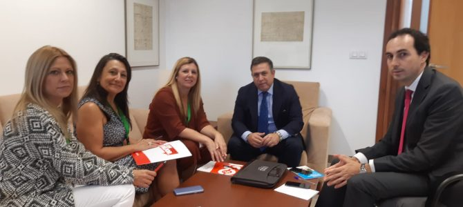 Ronda de contactos de USO con los Grupos Parlamentarios Popular, Ciudadanos, Vox y Adelante Andalucía